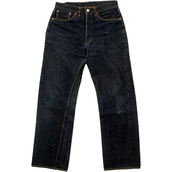 1950s Levi's Vintage 501 - front. Courtesy of Warehouse website