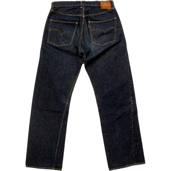 1950s Levi's Vintage 501, back- Courtesy of Warehouse website.