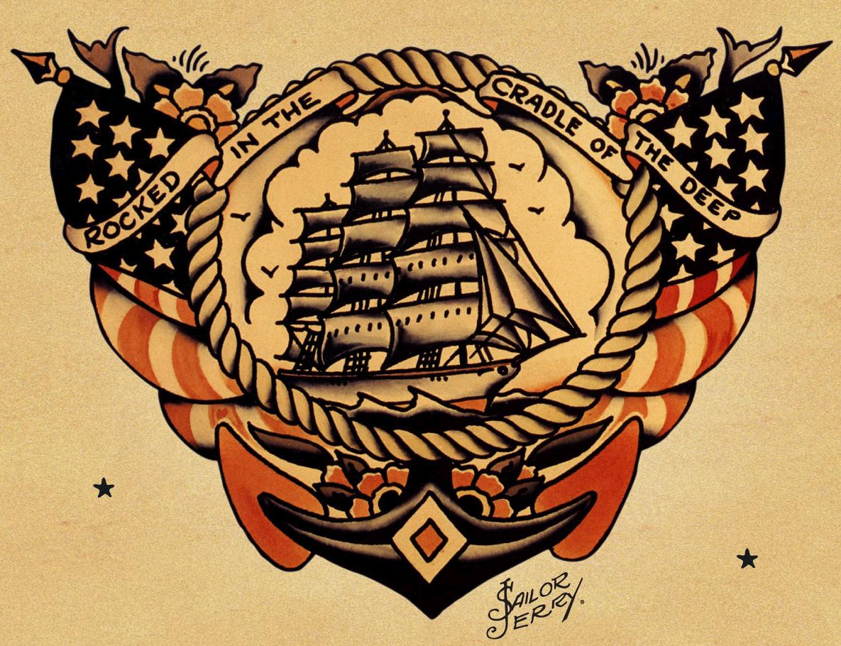 Mikrolet American Tattoo Icon The Sailor Jerry Collins Tattoo Art Tattoo Design