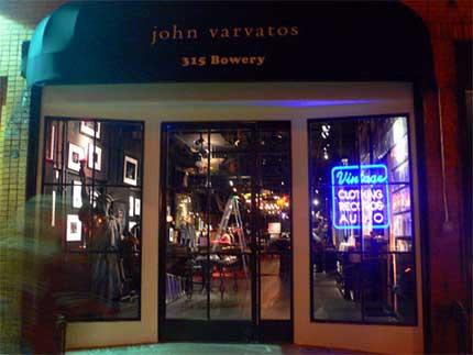 Varvatos on Bowery