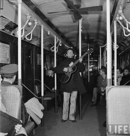 woody guthrie subway
