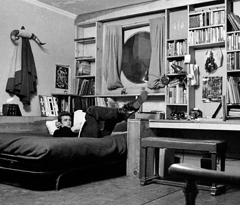JAMES DEAN NYC APARTMENT
