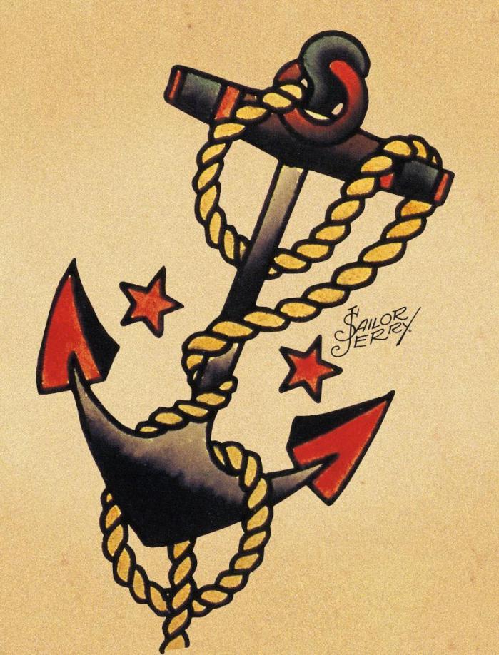sailor jerry tattoos anchor