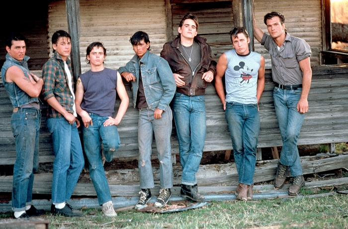 the-outsiders-tom cruise-rob lowe-matt dillon-emilio estevez-patrick swayze