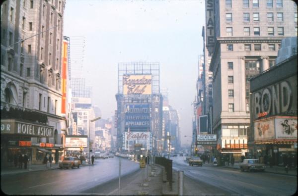 Times Square kodachrome