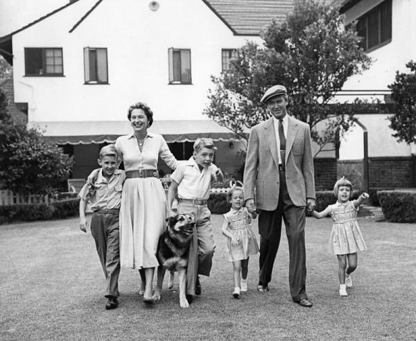 Jimmy Stewart family