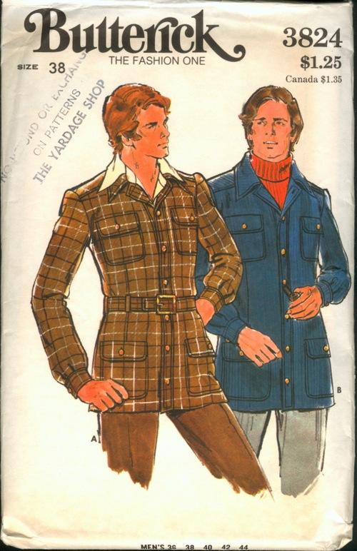1970s vintage menswear