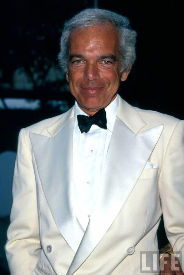 Ralph Lauren tuxedo white