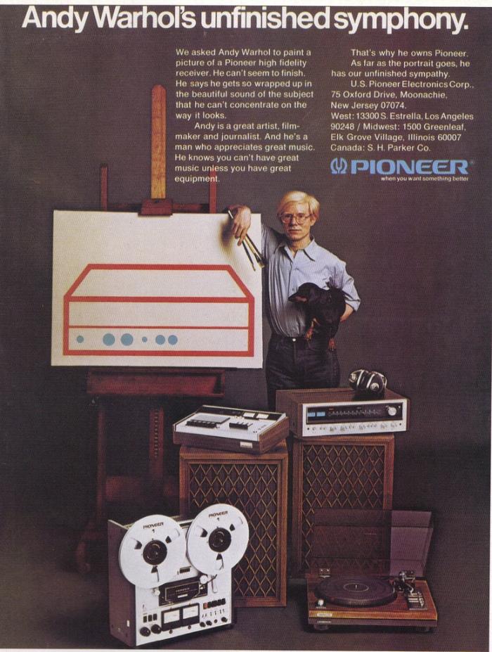 Andy Warhol Pioneer