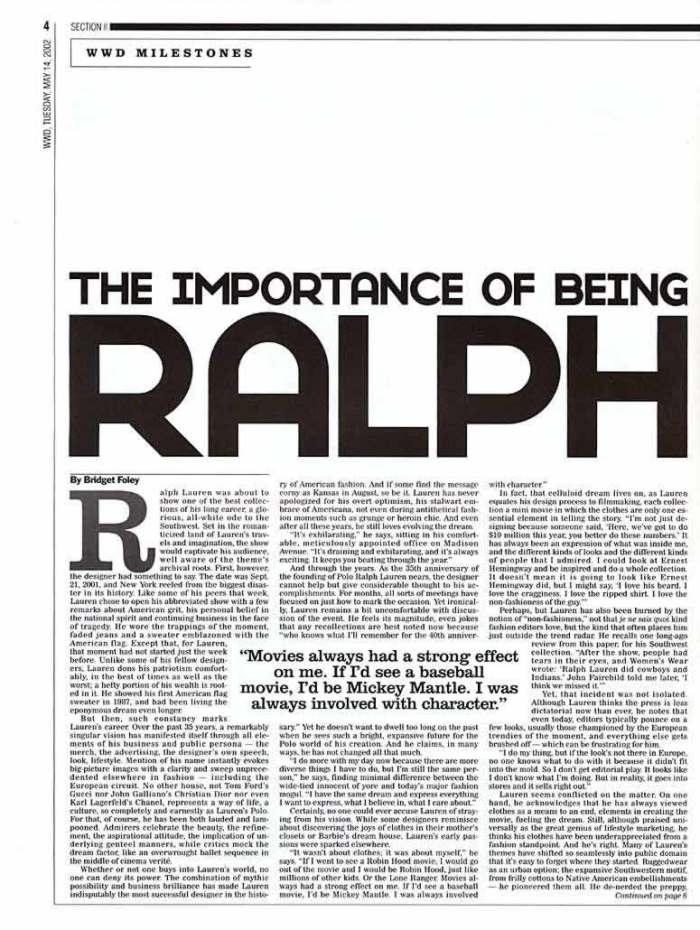 WWD Polo Ralph Lauren 2