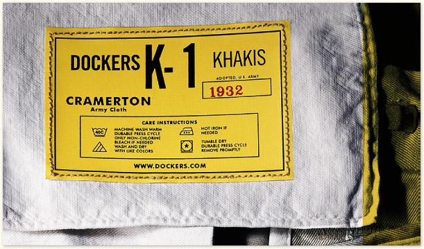dockers K-1 cramerton khaki