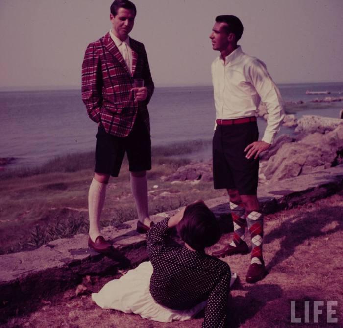 bermuda shorts menswear 50s fashion