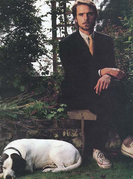 jeremy irons dog
