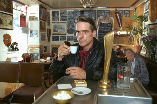 Jeremy Irons Paris