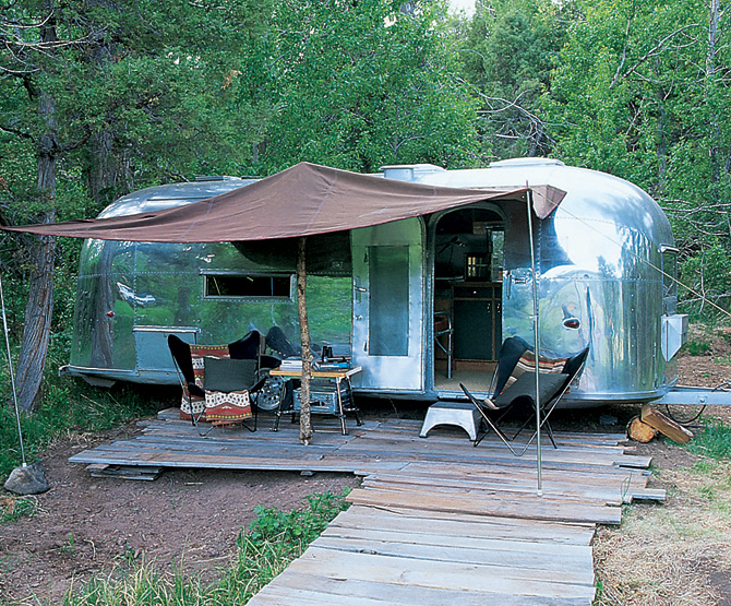 ralph lauren double rl airstream trailer