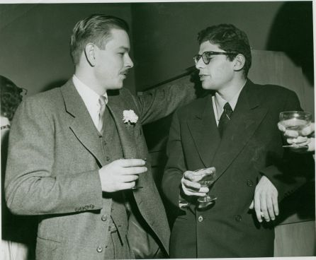 Lucien Carr wedding 1952 Ginsberg
