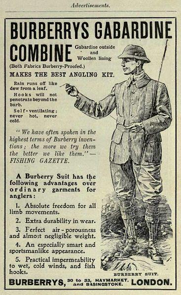 burberry advertisement 1908