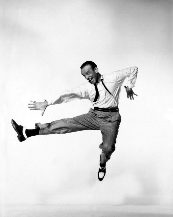 Fred Astaire white shirt