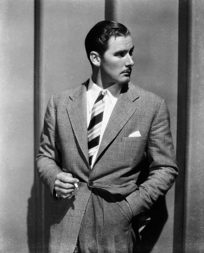 Errol Flynn white shirt