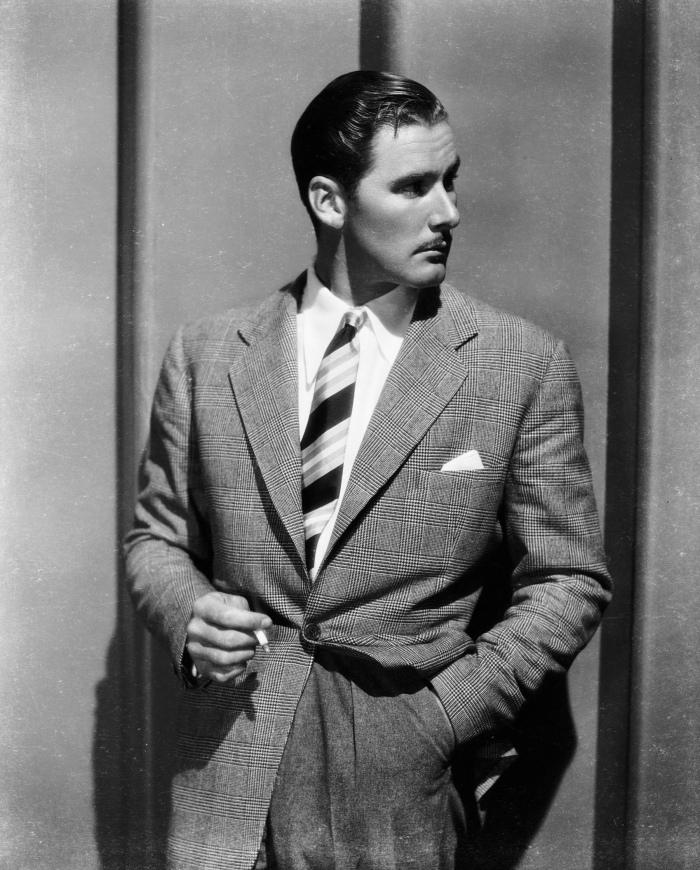 Errol Flynn white shirt