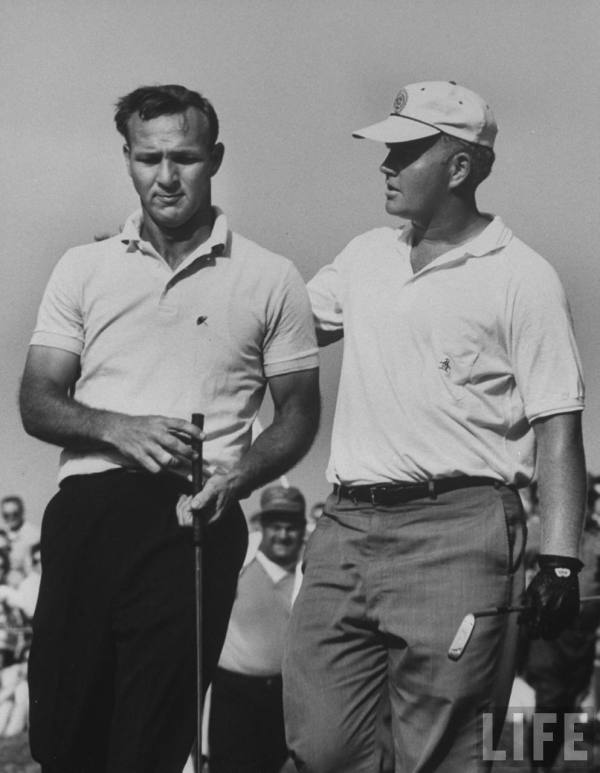 The Jack Nicklaus & Arnold Palmer Rivalry | Vintage Golf's