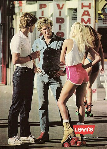 levis jeans ad 1979