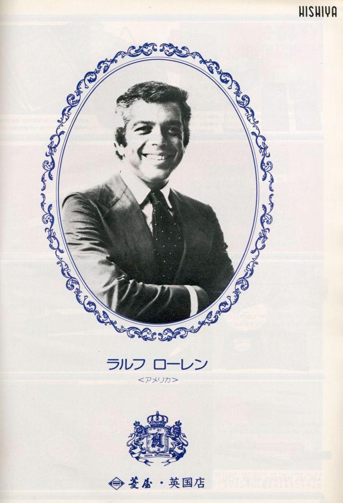 A young Ralph Lauren, via Men's Club 1975