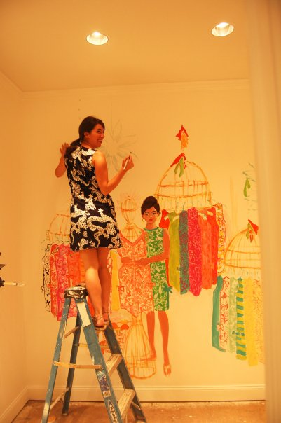 Paige Smith Lilly Pulitzer PGA