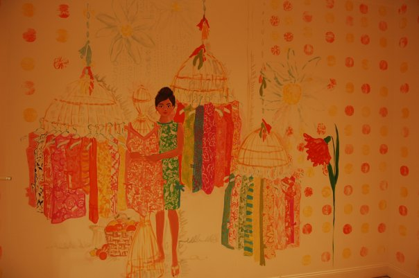 Lilly Pulitzer PGA Mural Palm Beach Gardens