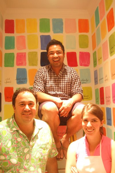 Lilly Pulitzer visual and print team