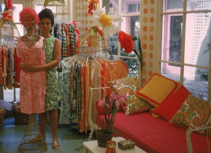 Lilly Pulitzer Palm Beach shop