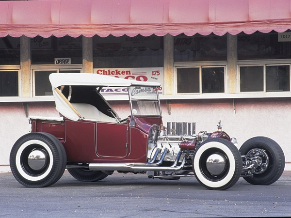 Tony Ivo's T'Bucket Hot Rod went on to be as big, if not a bigger star than actor/racer himself.