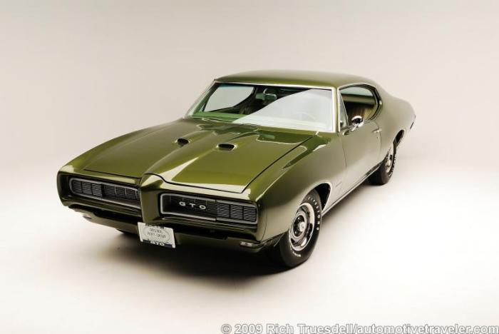 1968 Pontiac GTO Left Front