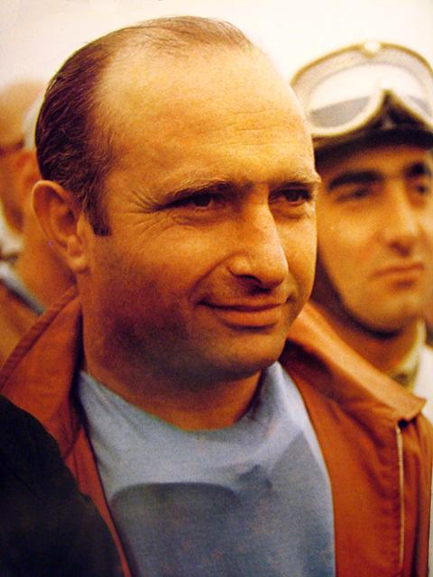 Juan Manuel Fangio known as El Maestro or The Master.