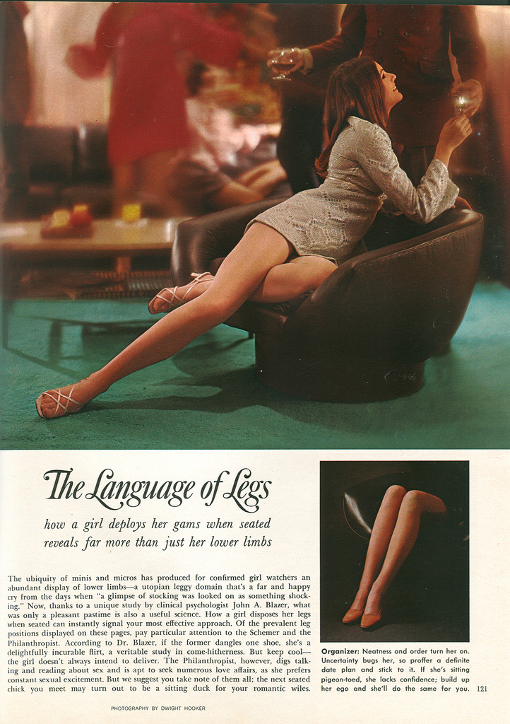 the language of legs