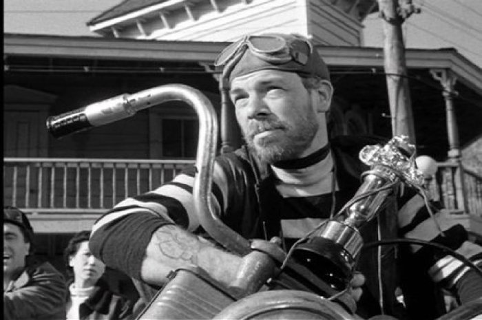 Of the bunch, I see the most resemblance between Lee Marvin & Tom Waits.