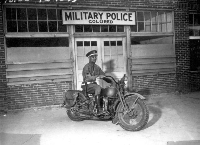 african americans wwii motorcycle