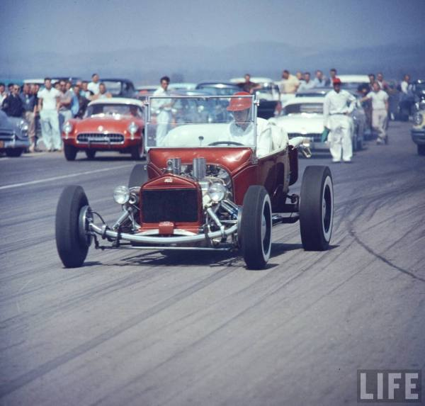 Tony Ivo's T-Bucket Hot Rod was unmatched in it's class back in the day.