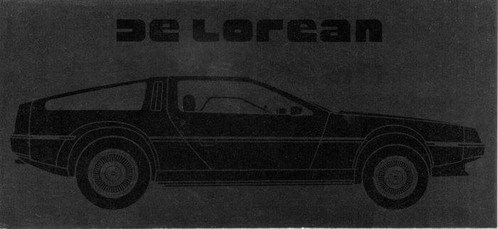 1981 DeLorean brochure