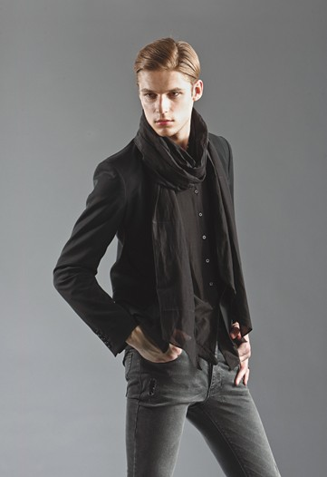 menswear fashion scarf