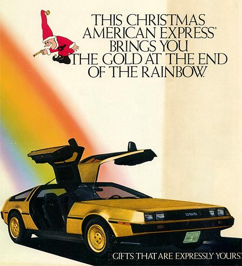 John DeLorean gold db1x1