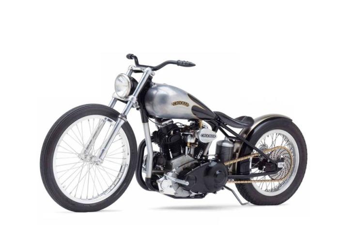 crocker motorcycles motorcycle bike jeff american super bobber harley decker engine chopper tough bikes clipped wings falcon triumph bobbed 2009