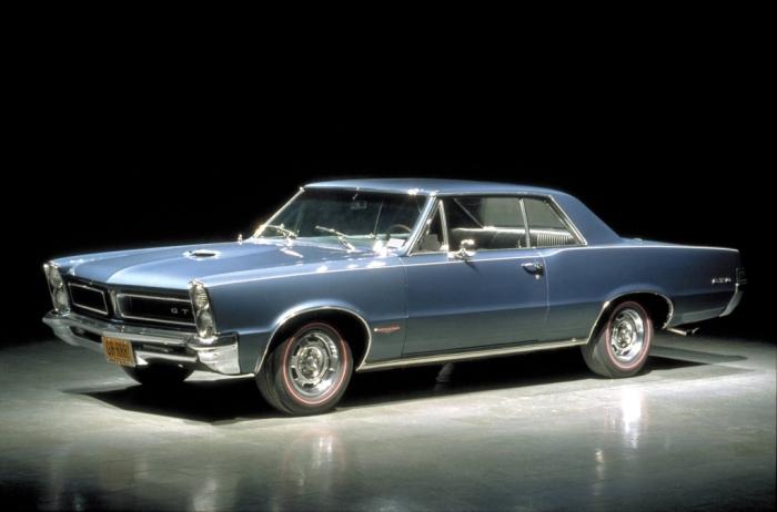 muscle cars history the Pontiac GTO
