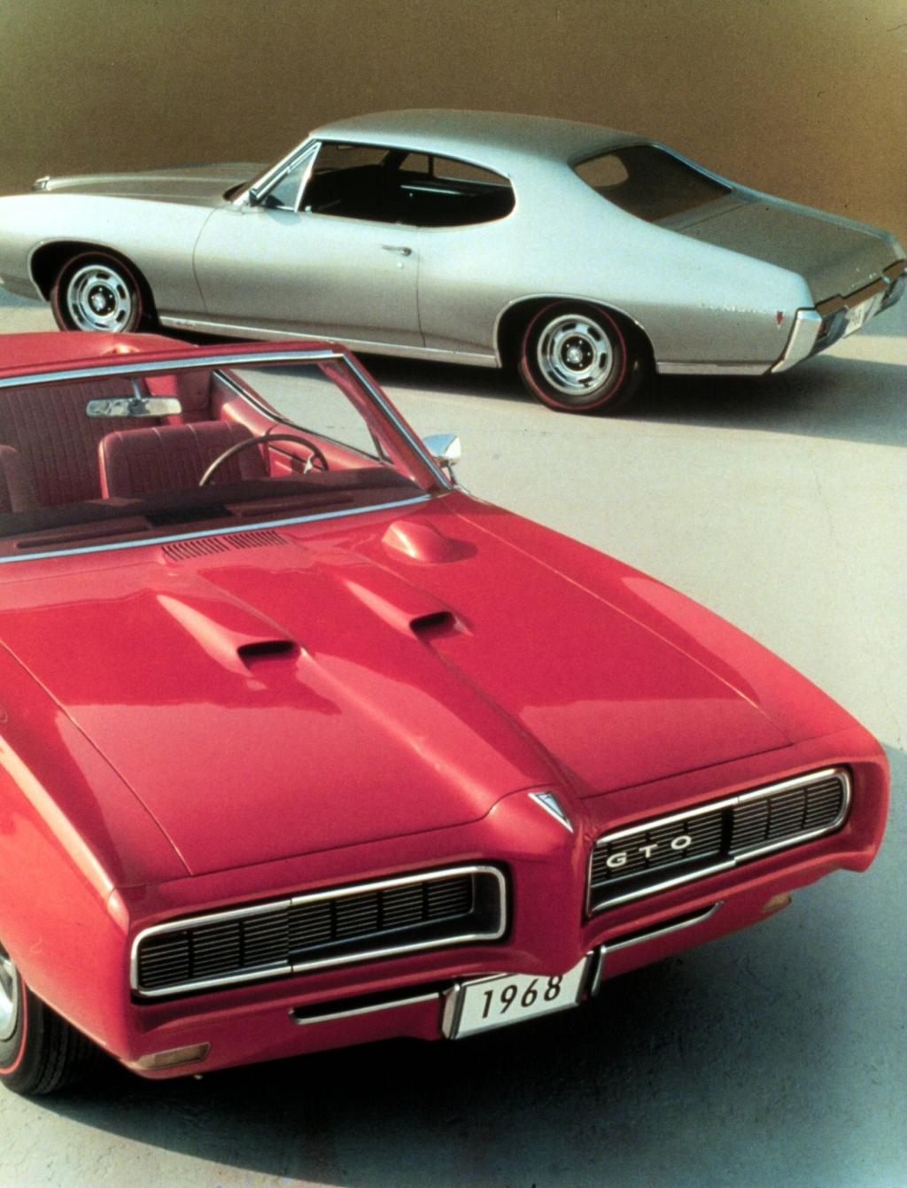 1968 Pontiac GTO advertisement