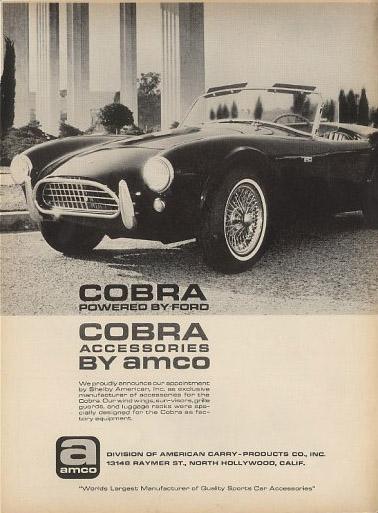 shelby 427 cobra amco 65