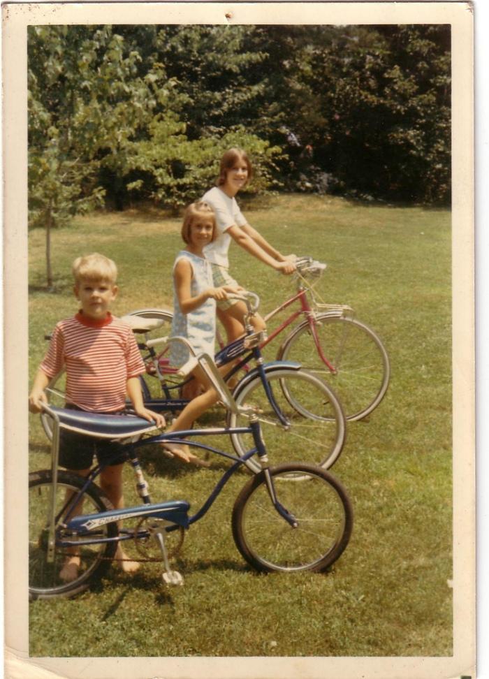 Vintage Schwinn summertime fun.
