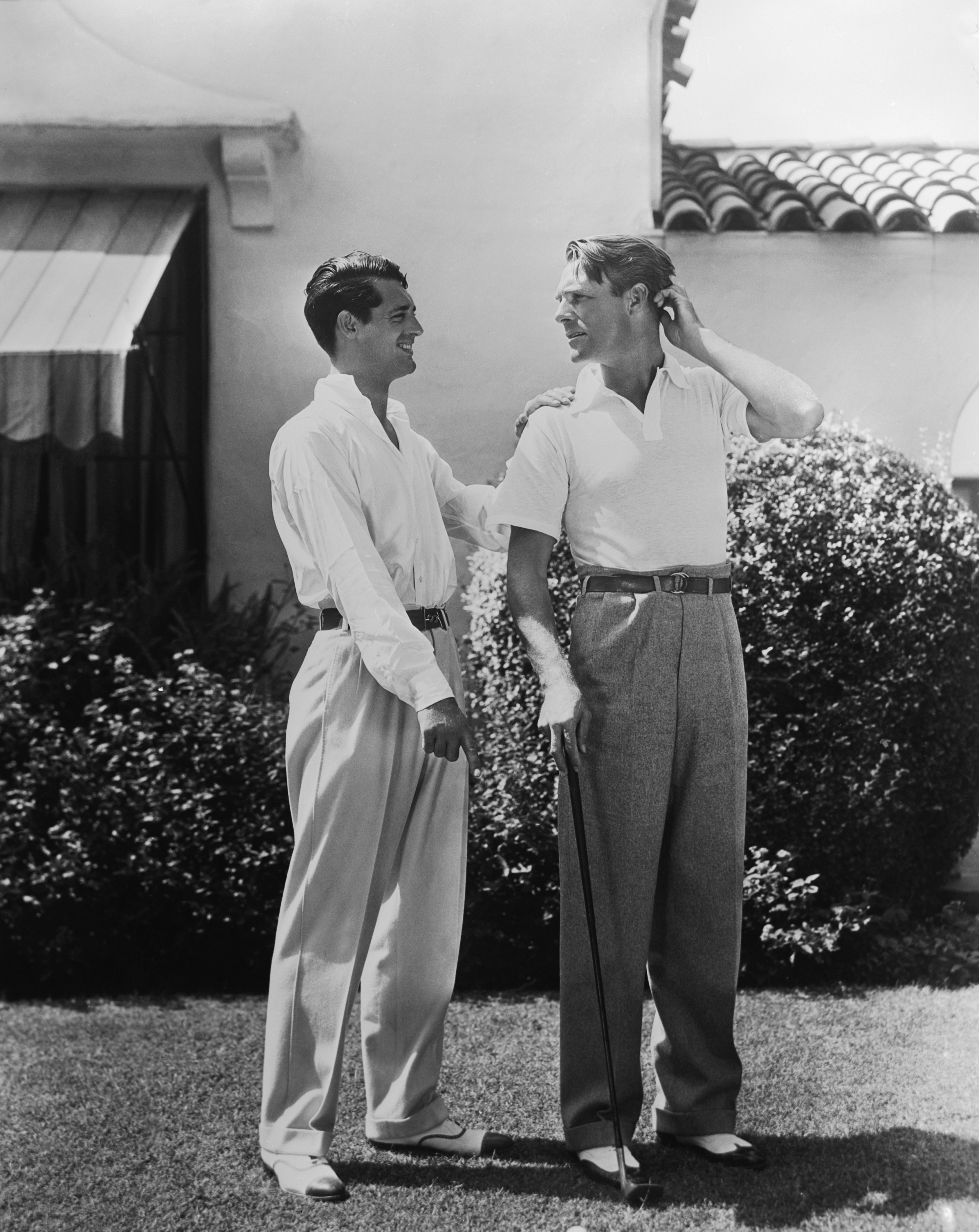 "Cary Grant and ""buddy"","