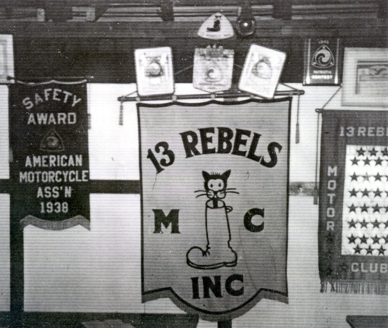 13 Rebels MC banner