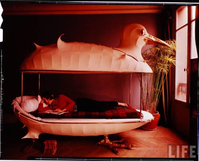 Francois-Xavier & Claude Lalanne designed duck bed.