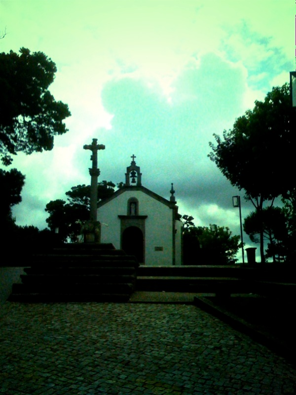 The church next to Santana Hotel, Vila do Conde.
